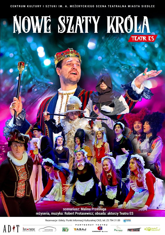 """Spektakl Teatru Es """"Nowe szaty króla"""""""