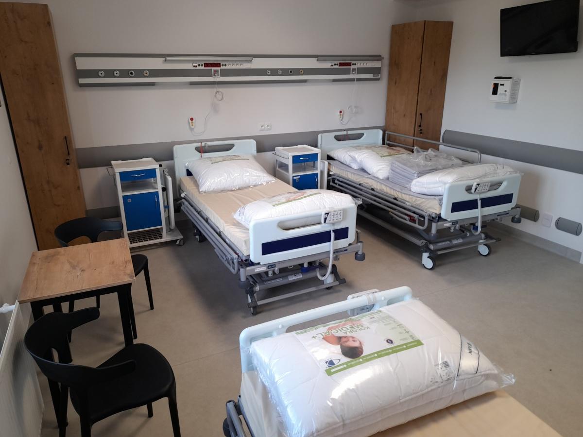 Oddział rehabilitacji kardiologicznej w szpitalu miejskim w Siedlcach